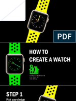How to make a watch