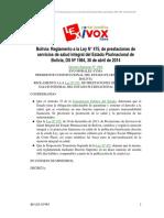 REGLAMENTO DE SALUD - BOLIVIA.pdf