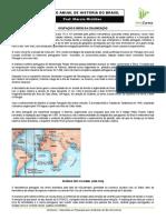 Semana 01 - Historia Do Brasil - Ocupação e Início Da Colonização