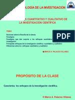 Clase (1) a Enfoques de Investigación