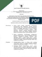Permenperind No 20 2014 Penunjukan LPK Perubahan Kaca Lembaran