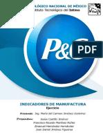 Ejemplo de Indicadores de Manufactura P&G