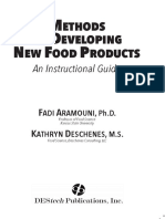 Methods for Developing New Food Products Preview