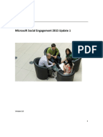 Microsoft Social Engagement User Guide