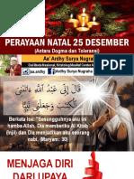 Natal Dan Toleransi