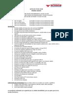 Lista de Utiles Primaria 2018