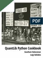 Quant Lib Python Cookbook