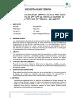 ESPECIFICACIONES TECNICAS__