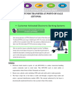 Electronic Funds Transfer at Point