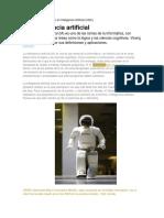 Inteligencia Artificial InfoPAGINA WEB