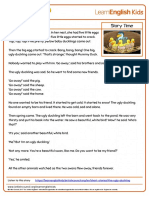 Short Stories Story Time the Ugly Duckling Transcript