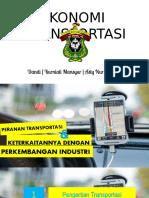 Presentation (Ekonomi Transportasi)