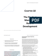 Chapter 10 - The Product Managers Role in Development