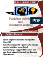 Problem Solving and Decision Making_mhs
