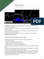 Trading Con Secciones en Forex