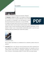 Manipulación de Contenedores en Puertos