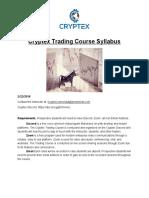 Trading Course Syllabus