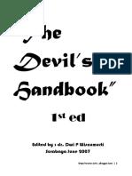 Cover devil handbook