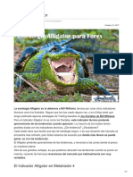 Estrategia Alligator Forex