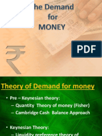Theories of Money and Interest