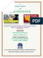 A Project Report on Sme Finance