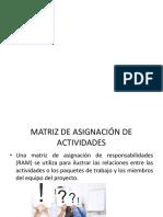 1.5 Matriz de Asignacion de Responsabilidades
