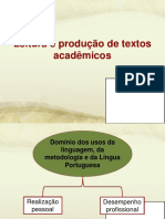 Leitura e Produçao de Texto Academico