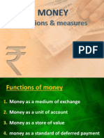 Supply and Function of Money
