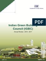 CII IGBC Annual Review_ 2016 2017