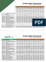 191-214 Schedule Public Training 2018 Health Safety Environment
