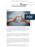 STF Julgou Inconstitucional Diferenciação Entre União Estável e Casamento Para Fins de Sucessão