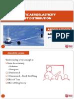 Static Aeroelasticity Lift Distribution 2014