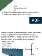 2ndLE Lecture 17 - R6 Work and Kinetic Energy II