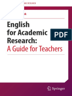 English for Academic Research a Guide for Teachers
