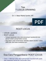 Making the Root Locus