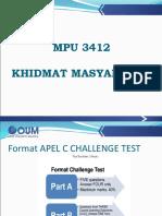 Mpu3412 Khidmat Masyarakat_bm Version
