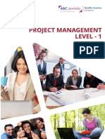 805Project Management Level 1