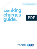 Banking Charges Brochure
