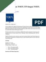 Apa Perbedaan TOEFL ITP Dengan TOEFL IBT