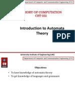 Intro to Automata Theory