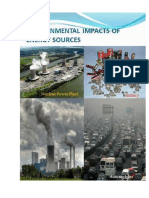 Chapter -4 Environmental Impacts of Energy Sources
