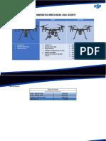 Tabla Comparativa Dron Dji m200