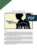 Cerdeña_Gender Equality an Established Human Right