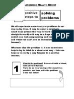 Solving Problems 3steps