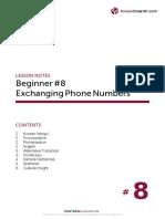 8- Phone Number