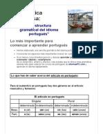 Mi Gramática Portuguesa_ Lo Más Importante en Portugués
