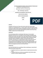 1994 Pola Pengolahan Tanah Konservasi Ipb Bogor