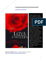 Bctg Guide-love in the Time of Cholera