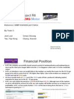 Simulation Project Board Report - SGHK Motor R6