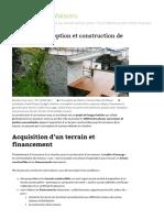 Etapes de Conception Et Construction de Maison - Architecte de Maisons